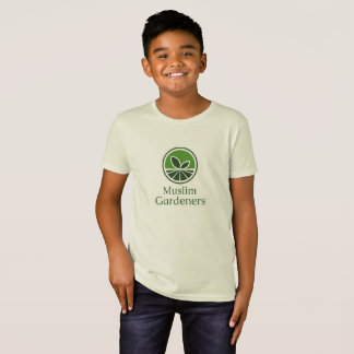 オーガニックなTシャツの青年 Tシャツ