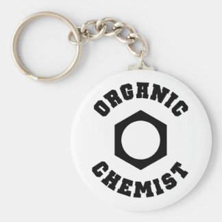 オーガニック|化学者|Keychain キーホルダー