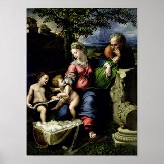 オークの木、c.1518の神聖な系列 ポスター