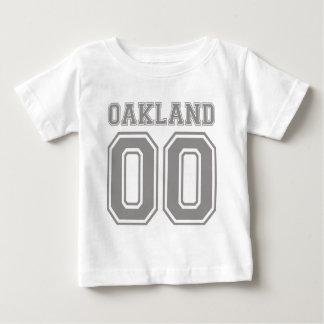 オークランドの倍ゼロ ベビーTシャツ