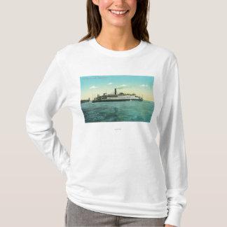 オークランドフェリーの眺め Tシャツ