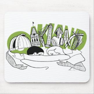 オークランド マウスパッド