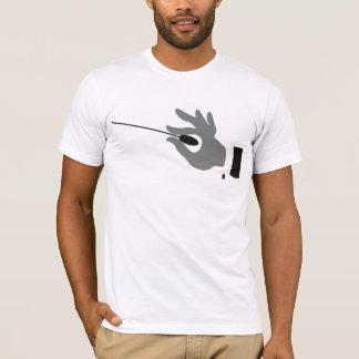 オーケストラの指揮者メンズTシャツ Tシャツ