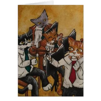 オーケストラ猫 カード