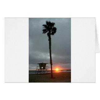 オーシャンサイドの日没 カード