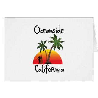 オーシャンサイドカリフォルニア カード