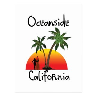 オーシャンサイドカリフォルニア ポストカード