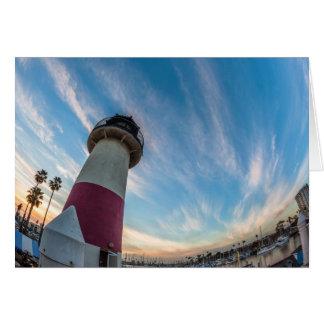 オーシャンサイド港の灯台 カード