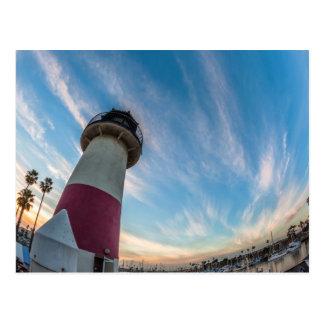 オーシャンサイド港の灯台 ポストカード