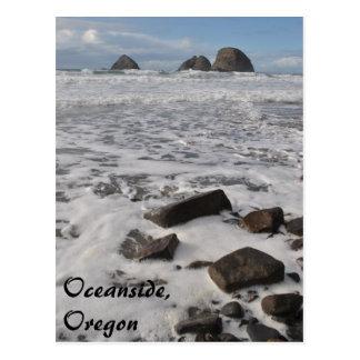 オーシャンサイド、オレゴン ポストカード
