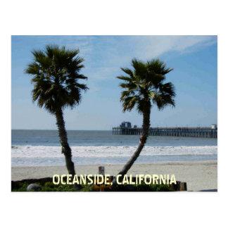 オーシャンサイド、カリフォルニア ポストカード