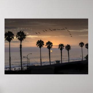 オーシャンサイド、カリフォルニア(米国) ポスター