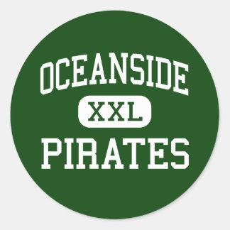 オーシャンサイド-海賊-高オーシャンサイドカリフォルニア ラウンドシール