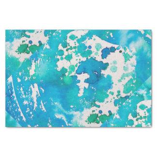 オーシャンブルーのティッシュペーパー 薄葉紙