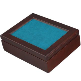 オーシャンブルー色のビロードのカスタムな家のカジノ ジュエリーボックス