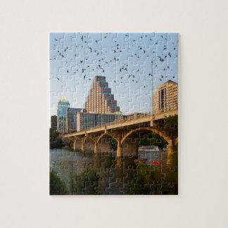 オースティンのテキサス州議会橋こうもり ジグソーパズル