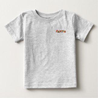 オースティンのベビーの罰金のジャージーのTシャツ ベビーTシャツ