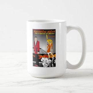 オースティンの女の子のコーヒー・マグ コーヒーマグカップ