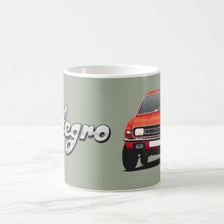 オースティンのAllegro赤DIYのマグ コーヒーマグカップ