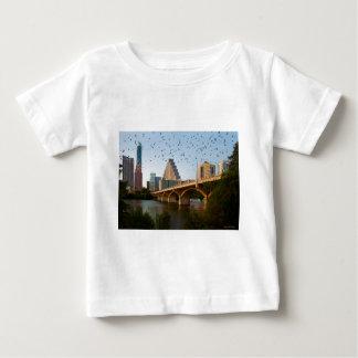 オースティン、こうもりとのテキサス州 ベビーTシャツ