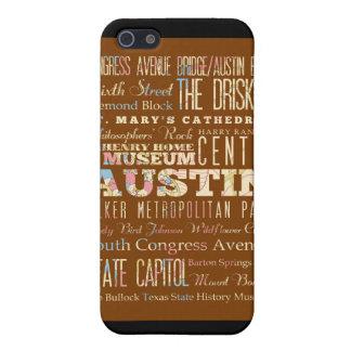 オースティン、テキサス州の魅力そして有名な場所 iPhone 5 COVER