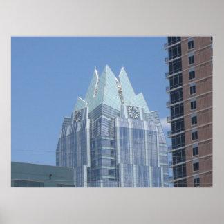 オースティン、テキサス州を造るフロスト銀行 ポスター