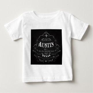 オースティン、テキサス州-世界の生演奏の首都 ベビーTシャツ