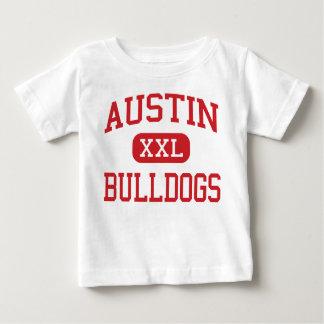 オースティン-ブルドッグ-高等学校-砂糖の土地テキサス州 ベビーTシャツ