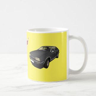 オースティン/Morrisのプリンセスの黒DIYのマグ コーヒーマグカップ