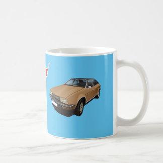 オースティン/MorrisのプリンセスDIYの茶色のマグ コーヒーマグカップ