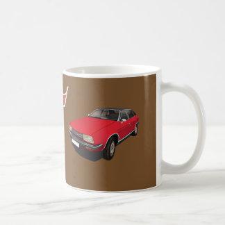 オースティン/MorrisのプリンセスDIYの赤のマグ コーヒーマグカップ