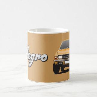 オースティンAllegro DIYのオレンジ金ゴールドのマグ コーヒーマグカップ