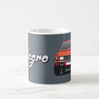 オースティンAllegro DIYの赤のマグ コーヒーマグカップ