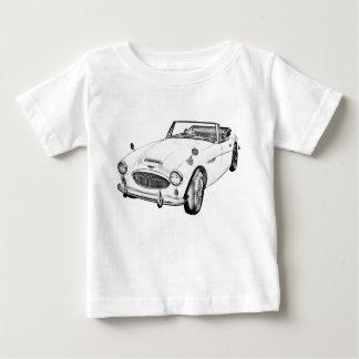 オースティンHealey 300のスポーツ・カーの絵 ベビーTシャツ