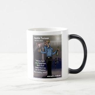 オースティンTacious- myFarcebook.comの億万長者の俗物 マジックマグカップ