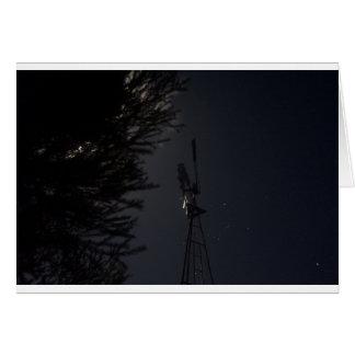 オーストラリアのオリオンのベルトそして風車 カード
