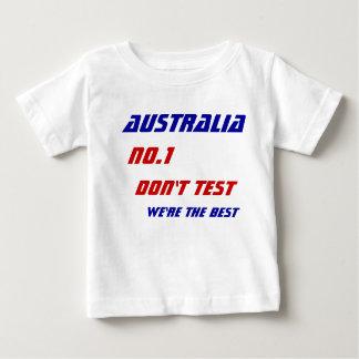 オーストラリアのオリンピックのTシャツ ベビーTシャツ