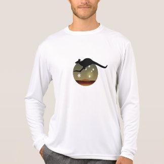オーストラリアのカンガルーの長袖のTシャツ Tシャツ