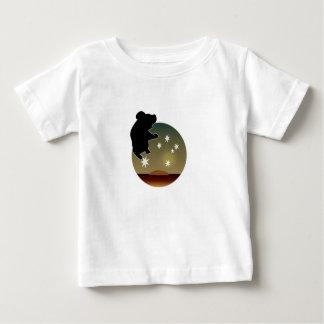 オーストラリアのコアラアイコン乳児のTシャツ ベビーTシャツ