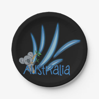 オーストラリアのコアラ ペーパープレート