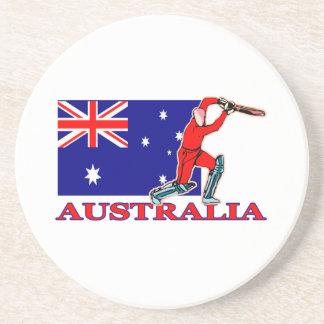 オーストラリアのコオロギプレーヤー コースター
