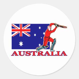 オーストラリアのコオロギプレーヤー ラウンドシール