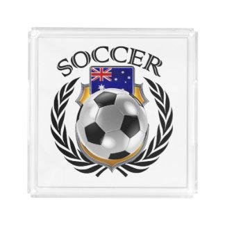 オーストラリアのサッカー2016ファンのギア アクリルトレー