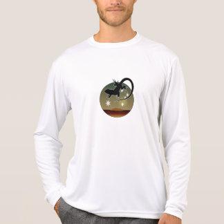 オーストラリアのトカゲの長袖のTシャツ Tシャツ