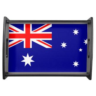 オーストラリアのトレイの旗 トレー