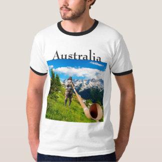 オーストラリアのハーフパンツの土地 Tシャツ