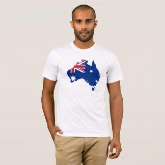 オーストラリアのプライドの旗のオーストラリアの人のTシャツ Tシャツ
