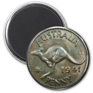オーストラリアのペニー1941年 マグネット