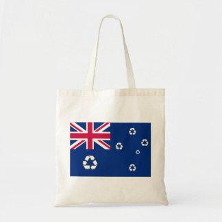 オーストラリアのリサイクルの旗のバッグ トートバッグ