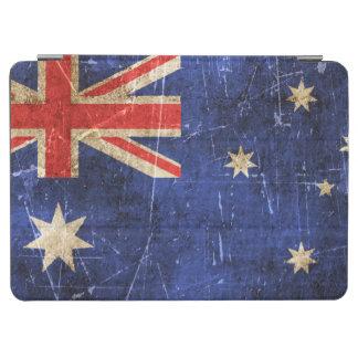 オーストラリアのヴィンテージの老化させ、傷付けられた旗 iPad AIR カバー